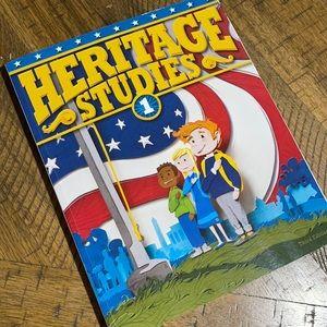 Heritage studies 1 BJU press